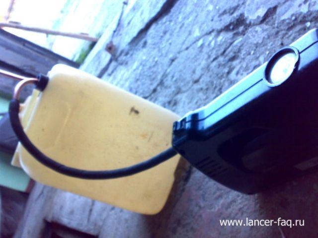 Замена масла в АКПП методом замещения Mitsubishi Lancer 9 (6)