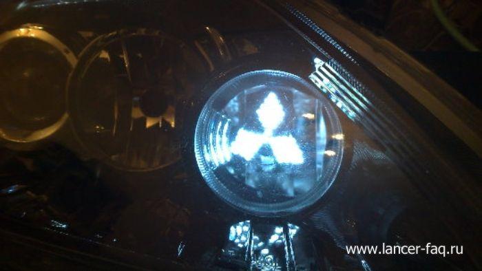 Модификация нештатной оптики Mitsubishi Lancer (10)