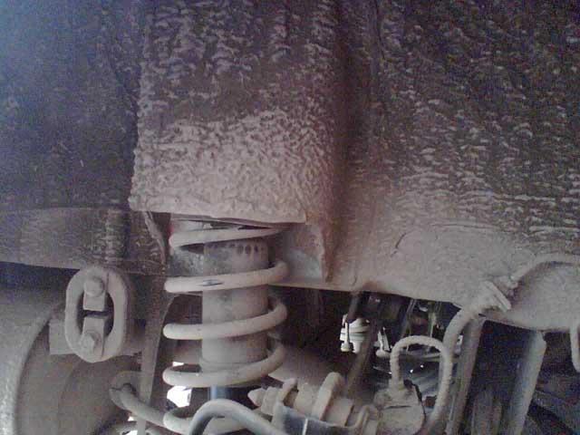 Установка задних подкрылков Mitsubishi Lancer 9 (14)