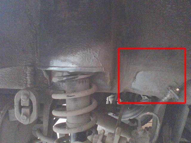 Установка задних подкрылков Mitsubishi Lancer 9 (15)
