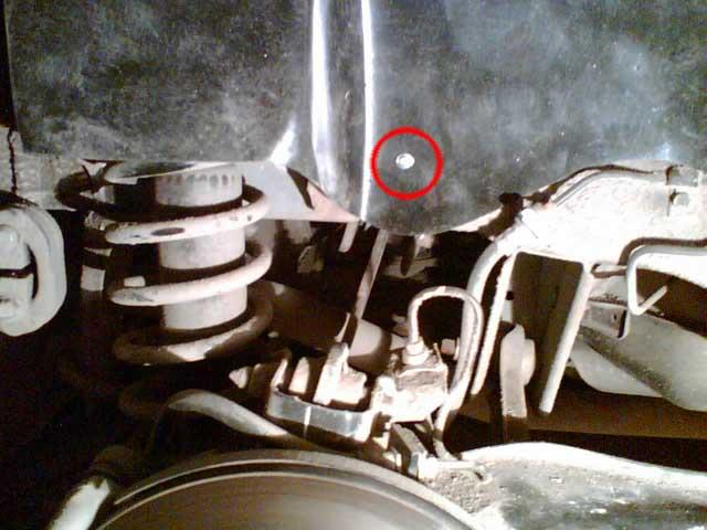 Установка задних подкрылков Mitsubishi Lancer 9 (19)