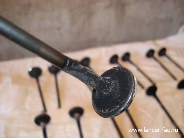 Замена колец и колпачков Lancer IX 1.6 (13)