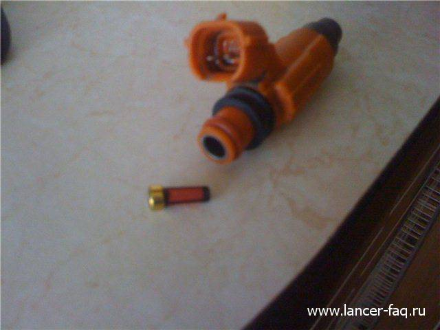 Чистка форсунок Lancer IX (6)