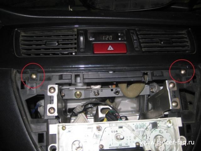 Лампа в кнопке аварийки (3)