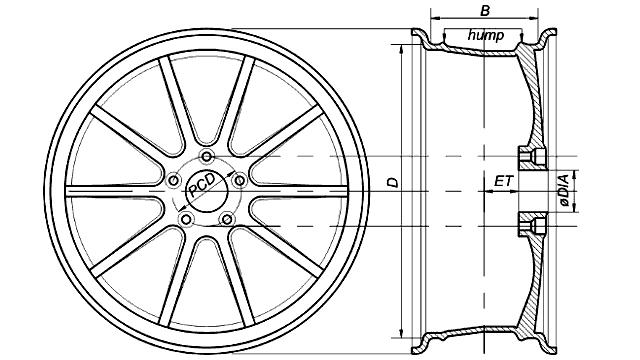 на схеме, Mitsubishi Lancer IX