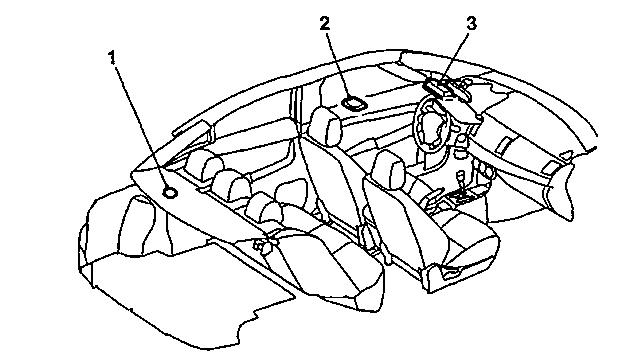 Типы ламп Mitsubishi Lancer X - салон