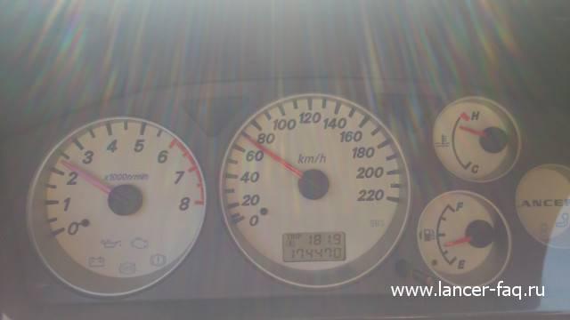Растет температура двигателя