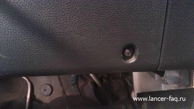 Ремонт или замена контактной группы Lancer IX 04