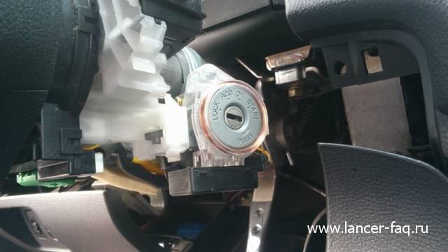Ремонт или замена контактной группы Lancer IX 06