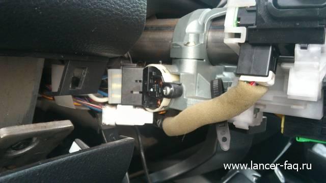 Ремонт или замена контактной группы Lancer IX 07