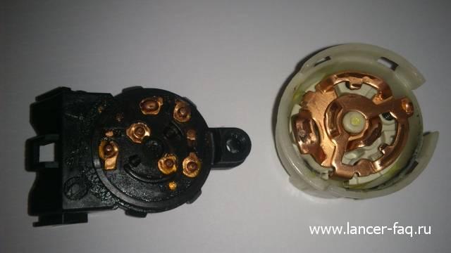 Ремонт или замена контактной группы Lancer IX 12