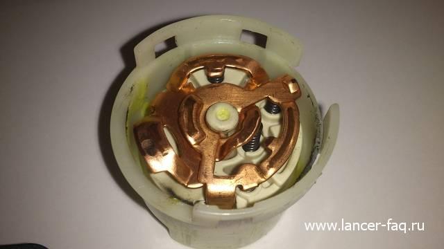 Ремонт или замена контактной группы Lancer IX 13