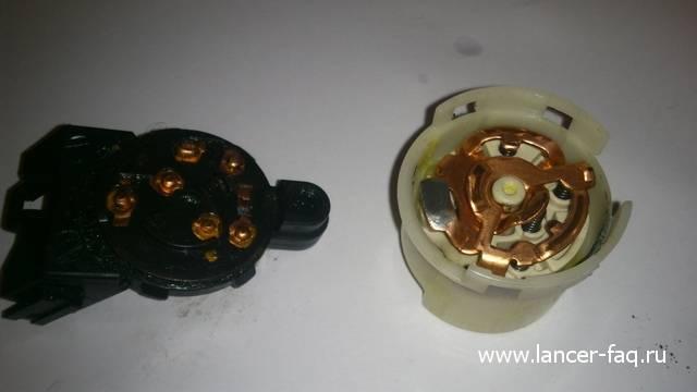 Ремонт или замена контактной группы Lancer IX 14